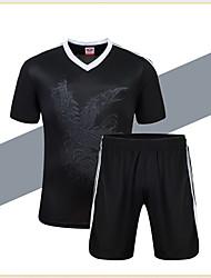 preiswerte -Herrn Fußball Hemd + Kurzschlüsse Kleidungs-Sets/Anzüge Atmungsaktiv Rasche Trocknung Leichtes Material Frühling Sommer Herbst Winter