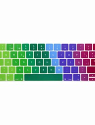 xskn® spagnolo europeo pelle colorata tastiera in silicone e protettore touchbar per il 2016 più nuovo MacBook Pro 13.3 / 15.4 con touch