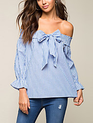 cheap -Women's Daily Casual All Seasons Shirt