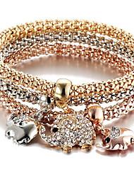Charmes pour Bracelets bijoux de fantaisie Mode Turc Alliage Forme d'Animal Bijoux Pour Sports
