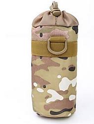 Недорогие -Фляга / мешок для воды Пояс Чехол для Спортивные сумки Тактический Водонепроницаемость Дожденепроницаемый Сумка для бега холст Темно-русый