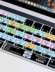 Недорогие -xskn® OS X ярлык силиконовая клавиатура кожи и протектор сенсорной панели для 2016 года нового Macbook Pro 13,3 / 15,4 с сенсорным