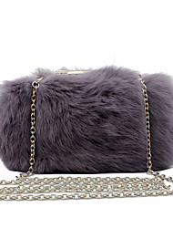 cheap -Women Bags Other Leather Type Evening Bag Fur for Wedding Event/Party Casual Formal Office & Career Winter Spring Summer Fall All Seasons