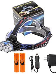 U'King Stirnlampen LED 4000 Lumen 3 Modus Cree XM-L T6 ja Kompakte Größe Notfall mobile Stromversorgung Einfach zu tragen Hohe Kraft