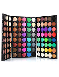 cheap -120 Colors Eyeshadow Palette / Eye Shadow / Powders Eye Daily Makeup Makeup Cosmetic