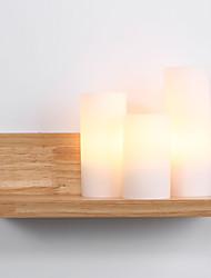 abordables -Rustique Appliques Pour Bois/Bambou Applique murale 110-120V 220-240V 60W