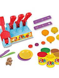 Недорогие -Играть в тесто, пластилин и шпатлевка Ролевые игры Наборы для моделирования Игрушки Своими руками Оригинальные пластик Ластик Подарок 1pcs