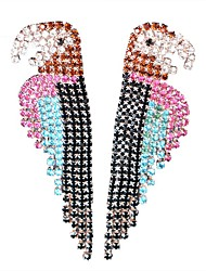 cheap -Drop Earrings Rhinestone Alloy Jewelry Party Daily Casual Costume Jewelry