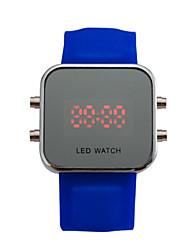 ieftine -pentru Doamne Ceas Smart Ceas digital Piloane de Menținut Carnea Energie solară Plastic Bandă Vintage Negru Alb Albastru