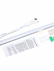 youoklight 1pcs 3w DC5V 1a 30 centímetros regulável branco branco / frio quente levou barra de luz usb sensor de toque tira levou luz