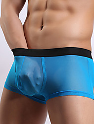 cheap -sexy clothing Solid Ultra sexy clothing Panties Boxers Underwear,Polyester