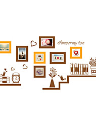 Wall Stickers Wall Decals Style Bookshelf Photograph PVC Wall Stickers