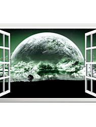 Módní Krajina 3D Samolepky na zeď Samolepky na stěnu 3D samolepky na zeď Ozdobné samolepky na zeď,Vinyl Materiál Home dekoraceLepicí