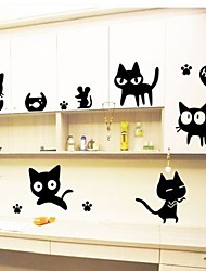 cheap -Animals Fashion Leisure Wall Stickers Plane Wall Stickers Decorative Wall Stickers, Vinyl Home Decoration Wall Decal Wall