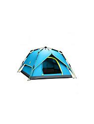 3-4 Pessoas Tenda Duplo Barraca de acampamento Um Quarto Barracas para Acampamento Família Prova-de-Água A Prova de Vento Respirabilidade