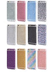 lusso bling protettore del corpo intero autoadesivo pellicola per il iphone 6 6s / iphone (colori assortiti)