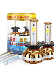2017 nuovo 6400lm d2 d4 60W LED fari kit pannocchia di chip 6000K lampadine 8000K lampade pair luce