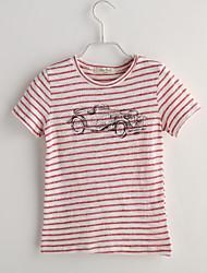 cheap -Boys' Polka Dot Short Sleeve Cotton Tee