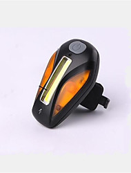 Недорогие -Велосипедные фары Велосипедные фары Задняя подсветка на велосипед Горные велосипеды Велоспорт Перезаряжаемый Компактный размер Меняет цвета USB Литиевая батарея USB Белый Красный Желтый / АБС-пластик