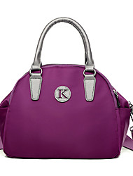 Women Bags All Seasons Nylon Shoulder Bag for Casual Outdoor Office & Career Blue Black Purple