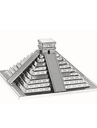 Недорогие -3D пазлы / Пазлы / Металлические пазлы Башня / Знаменитое здание Своими руками / Классический Мальчики Подарок