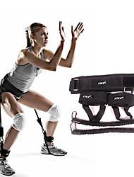 Bandes d'exercice/Elasiband Exercice & Fitness Gymnastique Détachable Portable Poids d'Entrainement Noir Métallique
