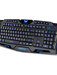 cheap -3 Color Backlit Gaming Switchable Computer Laptop USB Wired Backlight Led Gamer Keyboard