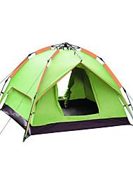3-4 Pessoas Tenda Duplo Barraca de acampamento Um Quarto Barracas para Acampamento Família Prova-de-Água Á Prova-de-Chuva Respirabilidade