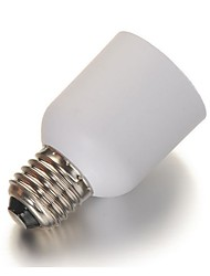 2PCS  E27 To E40 Base Holder Socket LED Lamp Adapter Converter PVC