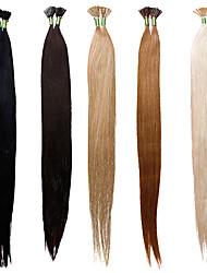 100% lidské prodlužování vlasů i tipy 18inch 25g 50 prameny rovné vlasy