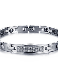 cheap -Chain Bracelet Costume Jewelry Magnetic Therapy Fashion Titanium Steel Jewelry Jewelry For Gift Valentine