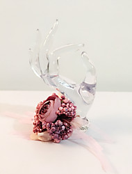 """cheap -Wedding Flowers Wrist Corsages Wedding Party / Evening Dried Flower 5.12""""(Approx.13cm)"""