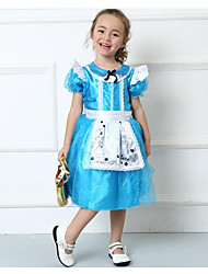 Princess Cinderella Cosplay Costumes Party Costume Kid Halloween Carnival Children's Day Festival/Holiday Halloween Costumes Patchwork