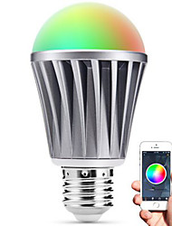 Smart LED E27 Bulb Bluetooth 4.0 RGBW Light Water Resistance / Dimmable / Timing / APP Remote Control / Sleeping Mood Lamp / Energy Saving