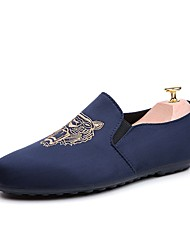 Men's Loafers & Slip-Ons Summer Moccasin Leatherette Casual Walking