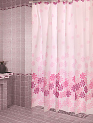 Modern Poly/Cotton Blend 180*180CM with High Quality Shower Curtains