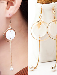 cheap -Women's Drop Earrings - Stylish Gold / Silver For Wedding / Party / Special Occasion / Daily / Casual