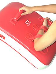 Boxhandschuhe für Boxen Kampfsport Fitness Taekwondo Wasserdicht Isoliert Kunstleder Rot/Weiß