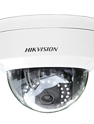 abordables -hikvision® ds-2cd2145f-iws caméra ip 4mp (h.265 poe audio / alarme io ip67 ik10 intégré slot sd wifi 30m ir)