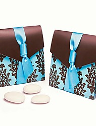 Creative Card Paper Favor Holder With Ribbons Favor Boxes Favor Bags Favor Tins and Pails Candy Jars and Bottles Cupcake Wrapper and