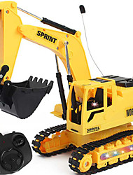 cheap -RC Car 3813 2.4G Excavator 1:24 Brushless Electric KM/H Remote Control Rechargeable Electric