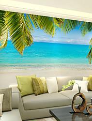abordables -Décoration artistique 3D Fond d'écran pour la maison Contemporain Revêtement , Toile Matériel adhésif requis Mural , Couvre Mur Chambre