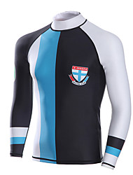 Men's Wetsuit Top Anatomic Design Breathable Compression Neoprene Diving Suit Long Sleeve Tops-Diving Spring Summer Classic