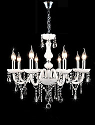 Chandelier ,  Modern/Contemporary Traditional/Classic Others Feature for Crystal Candle Style GlassLiving Room Bedroom Dining Room Study