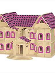 economico -Kit fai-da-te Puzzle 3D Puzzle Giocattoli di logica e puzzle Giocattoli Edificio famoso Edificio in stile orientale Casa Animali Per uomo