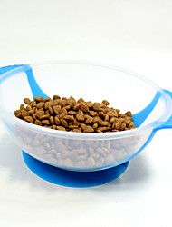 2 Colors high quality dog bowl Anti slip anti overflow dog bowls Dog food Bowl Pet Supplies