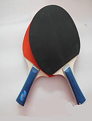 Ping-pong Racchette Ping Pang/Palla di ping-pong Ping Pang Sughero Manopola  lunga Brufoli 2 Racchetta Palline da ping pong
