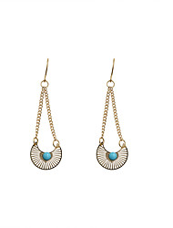 Women's Drop Earrings Fashion Euramerican Alloy Jewelry Jewelry For Wedding Party Daily Casual Sports