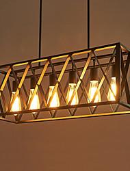 abordables -6 lumières Montage du flux Lumière dirigée vers le bas - Designers, 110-120V / 220-240V Ampoule non incluse / 15-20㎡ / E26 / E27