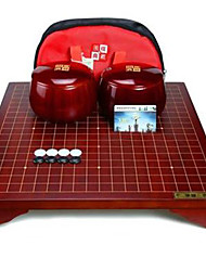 preiswerte -Bretsspiele Schachspiel Go/Chinesisches Schachspiel Puffen Spielzeuge Kreisförmig Kunststoff Stücke Kinder Unisex Geschenk